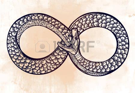47393486-carte-vintage-serpent-qui-se-mange-son-conte-dessin-e--la-main-ouroboros-esquisse-de-ligne-infinity-