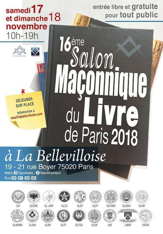 Maria Deraismes au 16 è Salon Maçonnique du Livre à la Bellevilloise