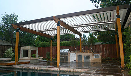 adjustable patio cover apollo opening roof system