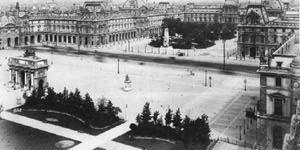 Дворец Лувр. Вторая половина XIX века.