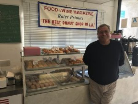 Primo's Donuts: The Best Donuts in LA since 1956 Ralph Primo - owner of Primo's Donuts