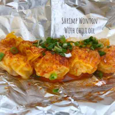 ixlb Dimsum Eats: Quick, Yummy, and Cheap Takeout - Shrimp Wonton with Chili Oil