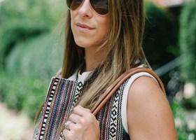 Maje Embroidered Vest * Summer Style Inspiration (5)