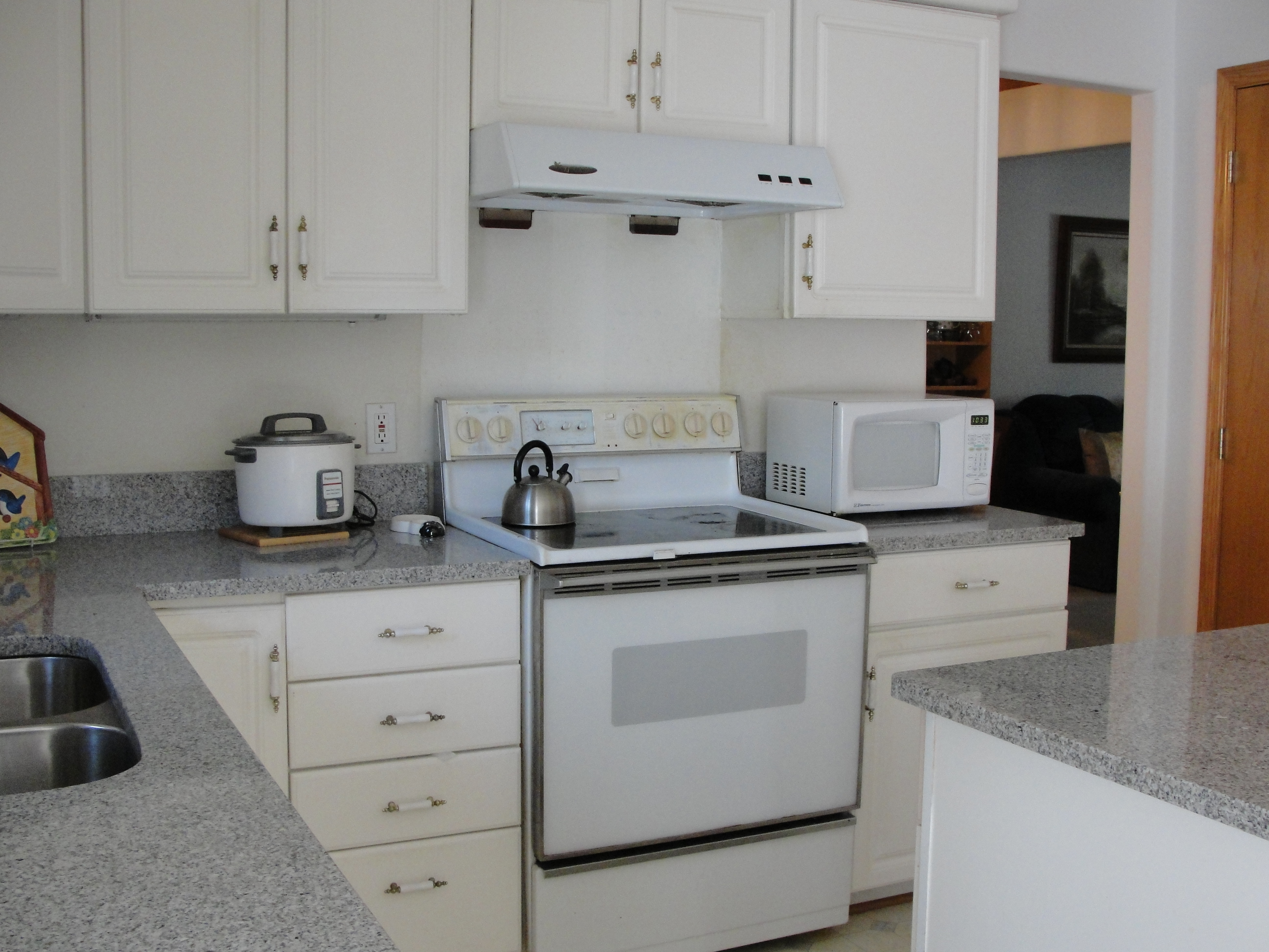 lowes kitchen cabinets home depot tile backsplash 小厨房旧貌换新颜 还在进行时 南方朱槿的网上家园 lowes厨柜