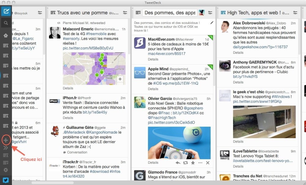 Tweetdeck et les Custom TL de Twitter (2/6)