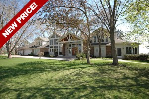 Spectacular Entertainer's Dream Home on a Private Peninsula in South Barrington!