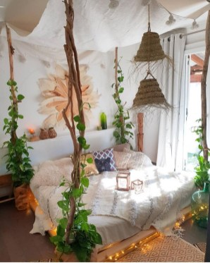Adorable Bohemian Bedroom Decoration Ideas You Will Totally Love 24