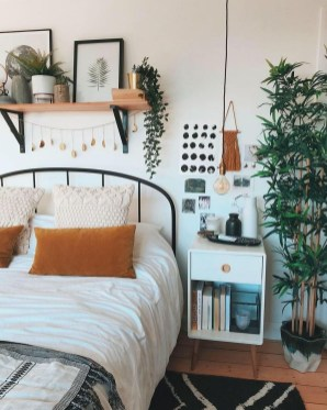 Adorable Bohemian Bedroom Decoration Ideas You Will Totally Love 26