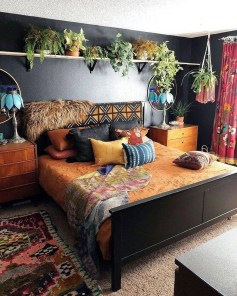 Adorable Bohemian Bedroom Decoration Ideas You Will Totally Love 30