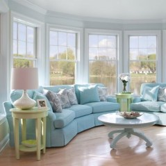 Elegant Coastal Themes For Your Living Room Design 20