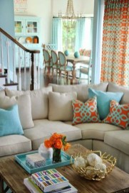Elegant Coastal Themes For Your Living Room Design 33