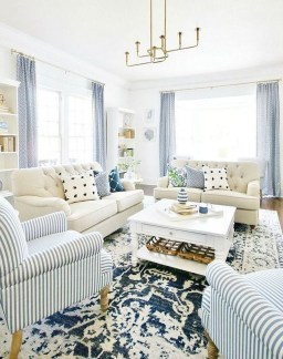 Elegant Coastal Themes For Your Living Room Design 44