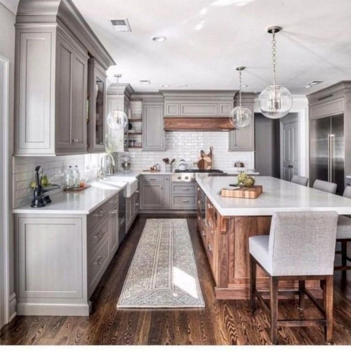 Inspiring Famhouse Kitchen Design Ideas 47