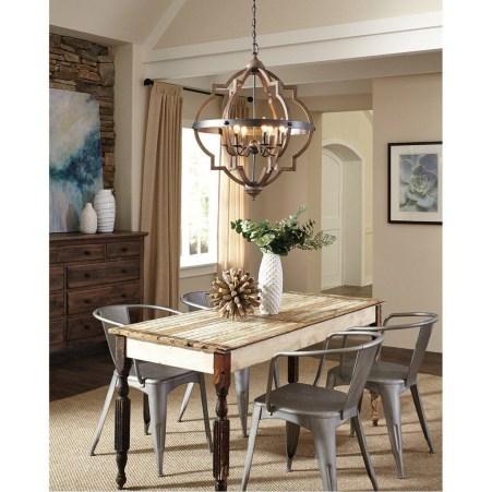 Rustic Farmhouse Dining Room Design Ideas 43