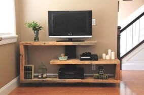 Amazing Wooden TV Stand Ideas You Can Build In A Weekend 05