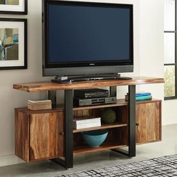 Amazing Wooden TV Stand Ideas You Can Build In A Weekend 16