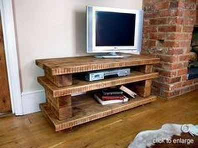 Amazing Wooden TV Stand Ideas You Can Build In A Weekend 23