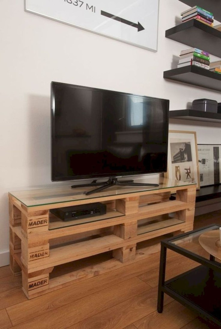 Amazing Wooden TV Stand Ideas You Can Build In A Weekend 25