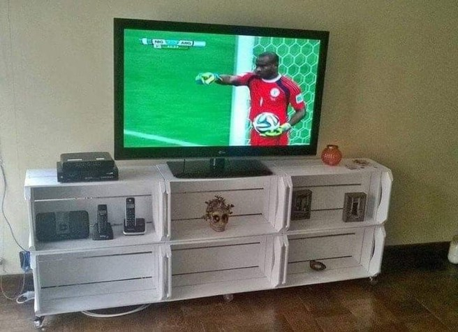 Amazing Wooden TV Stand Ideas You Can Build In A Weekend 40