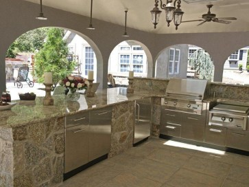 Awesome Kitchen Design Ideas To Cooking In Summer 48