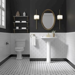 Brilliant Bathroom Design Ideas For Small Space 34