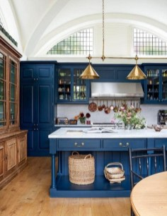 Cool Blue Kitchens Ideas For Inspiration 01