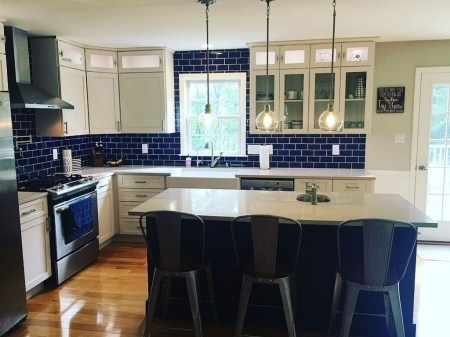 Cool Blue Kitchens Ideas For Inspiration 06