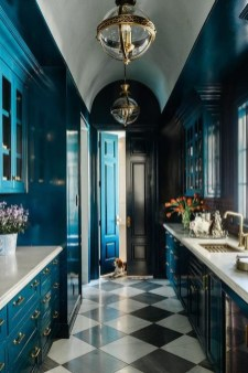 Cool Blue Kitchens Ideas For Inspiration 07