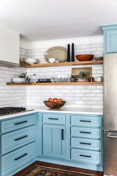 Cool Blue Kitchens Ideas For Inspiration 11