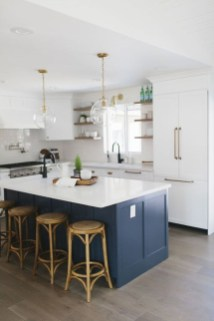 Cool Blue Kitchens Ideas For Inspiration 16