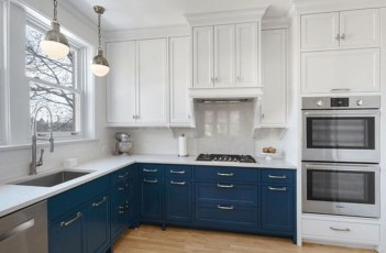 Cool Blue Kitchens Ideas For Inspiration 23
