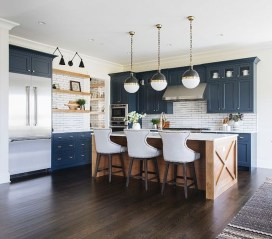 Cool Blue Kitchens Ideas For Inspiration 28