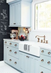 Cool Blue Kitchens Ideas For Inspiration 29