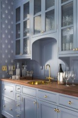 Cool Blue Kitchens Ideas For Inspiration 31