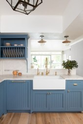 Cool Blue Kitchens Ideas For Inspiration 37