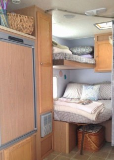 Cozy RV Bed Remodel Ideas On A Budget 04