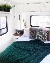 Cozy RV Bed Remodel Ideas On A Budget 13