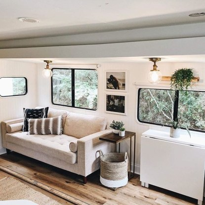 Cozy RV Bed Remodel Ideas On A Budget 17