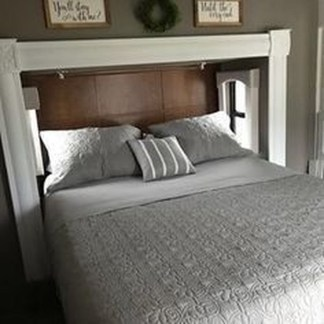 Cozy RV Bed Remodel Ideas On A Budget 33