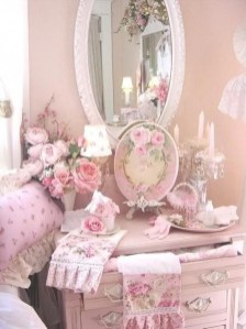 Cute Shabby Chic Bedroom Design Ideas For Your Daughter 01