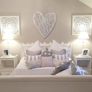 Cute Shabby Chic Bedroom Design Ideas For Your Daughter 03