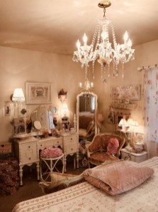 Cute Shabby Chic Bedroom Design Ideas For Your Daughter 10