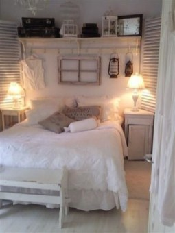 Cute Shabby Chic Bedroom Design Ideas For Your Daughter 24