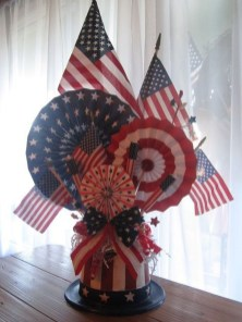 Elegant Vintage 4th Of July Home Decoration Ideas 21