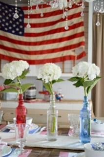 Elegant Vintage 4th Of July Home Decoration Ideas 49
