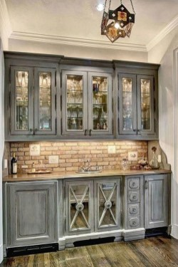 Fantastic Farmhouse Kitchen Cabinets Ideas For Home 15