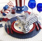 Fascinating 4th Of July Decoration Ideas For Your Dining Room 45
