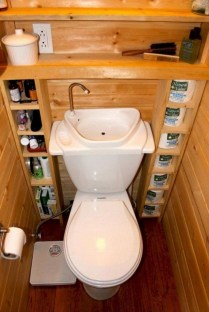 Genius Storage Bathroom Ideas For Space Saving 46