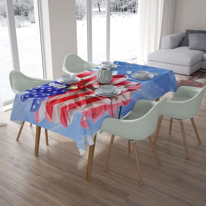 Inexpensive 4th Of July Decoration Ideas In The Dining Room 01