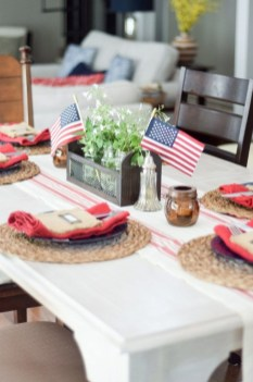 Inexpensive 4th Of July Decoration Ideas In The Dining Room 10